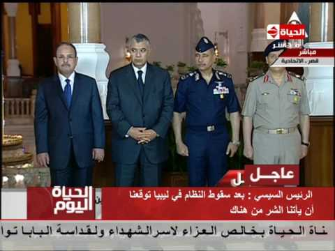 اليمن اليوم- الرئيس السيسي طالب من الأجهزة الانتباه لعودة المقاتلين من سورية