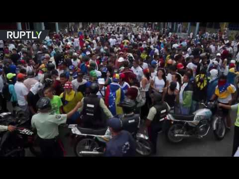 اليمن اليوم- 50 جريحًا في أكبر مظاهرات للمعارضة في فنزويلا