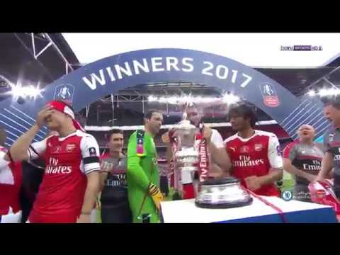 اليمن اليوم- شاهد تتويج نادي الأرسنال بطلًا لكأس الاتحاد الإنجليزي