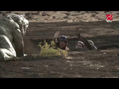 اليمن اليوم- شاهد  ماذا فعلت فيفي عبده في مواجهة سحلية