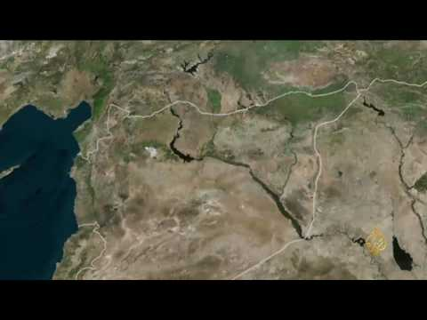 اليمن اليوم- شاهد موجة نزوح واسعة من الرقة