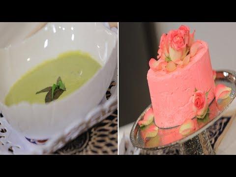 اليمن اليوم- شاهد طريقة إعداد شوربة الكوسة الكريمي اللايت وأيس كريم الورد