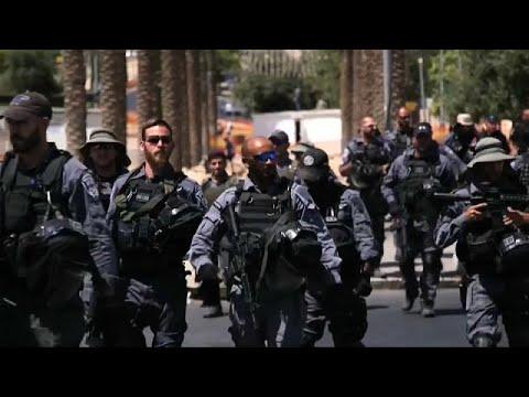 اليمن اليوم- شاهد مدينة القدس والمسجد الأقصى على صفيح ساخن