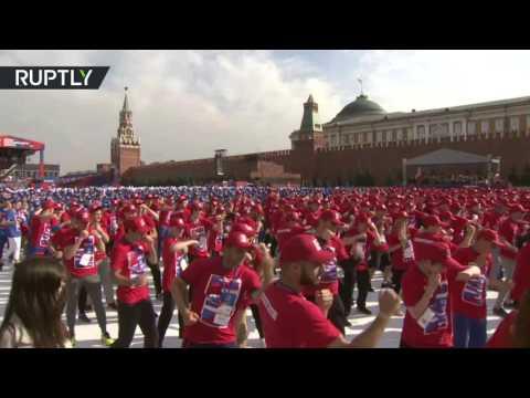 اليمن اليوم- 3000 ملاكم روسي يتدربون معا لدخول موسوعة غينيس