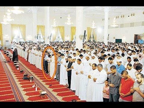 اليمن اليوم- شاهد سقوط أحد المصلّين في المسجد أثناء قراءة القرآن
