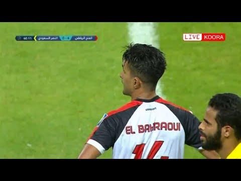 اليمن اليوم- شاهد الفتح الرباطي يكتسح النصر السعودي في البطولة العربية 40