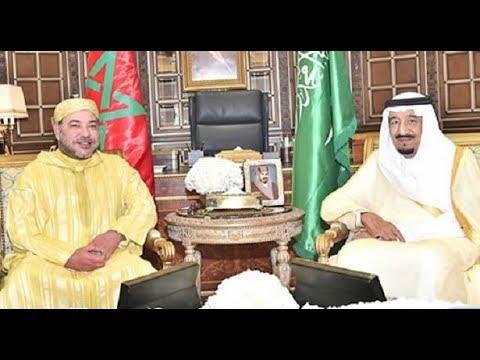 اليمن اليوم- بالفيديو  الملك محمد السادس يزور العاهل السعودي في طنجة