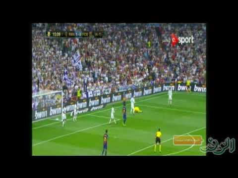 اليمن اليوم- فيديو  ليونيل ميسي يهدر فرصة محققة لبرشلونة أمام ريـال مدريد