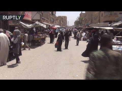 اليمن اليوم- شاهد مواطنو دير الزور يرحبون بتقدم الجيش السوري في ريف المحافظة