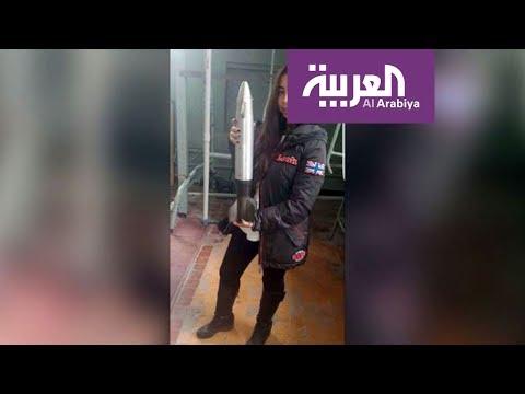 اليمن اليوم- شاهد فتاة مصرية تقتحم مجال الفضاء