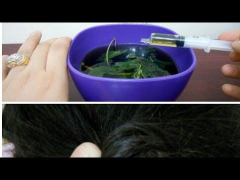 اليمن اليوم- شاهد وصفة سحرية باستخدام الملوخية لتطويل الشعر