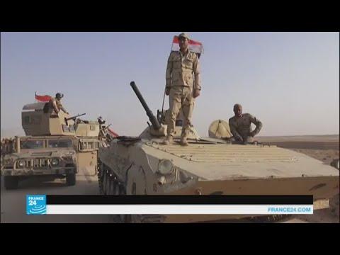 اليمن اليوم- شاهد القوات العراقية تبدأ عملية عسكرية لاستعادة قضاء عانة في الأنبار