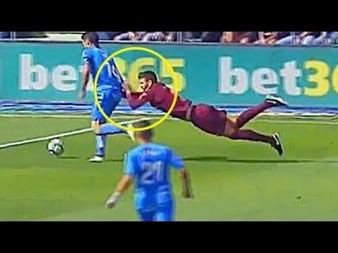 اليمن اليوم- شاهد أبرز الأخطاء المضحكة في كرة القدم