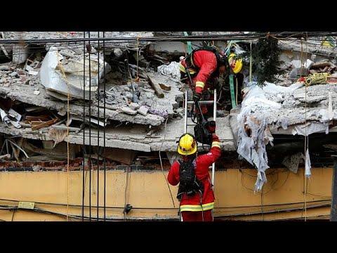 اليمن اليوم- شاهد أسباب وقوع زلزال المكسيك المدمِّر