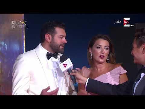 اليمن اليوم- شاهد عمرو يوسف وكندة علوش يتحدثان عن مشاركتهما في مهرجان الجونة