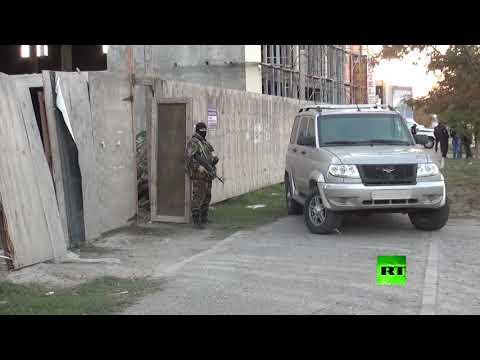 اليمن اليوم- شاهد قوات الأمن الروسية يفككون عدة مخابئ لـداعش في محج قلعة