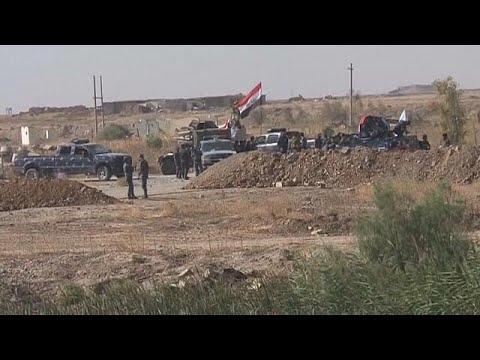 اليمن اليوم- شاهد مواجهات بين الجيش العراقي والبشمركة خارج كركوك