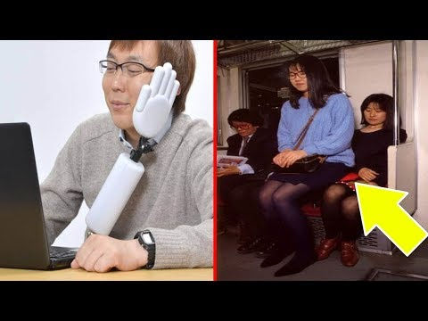 اليمن اليوم- شاهد  ٢٠ اختراعًا غريبًا ومذهلًا لن تجده إلا في اليابان