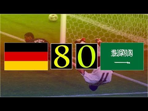 اليمن اليوم- شاهد أكبر 10 انتصارات في تاريخ كأس العالم