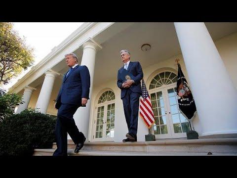 شاهد جيروم باول الرئيس الجديد للاحتياطي الفيدرالي