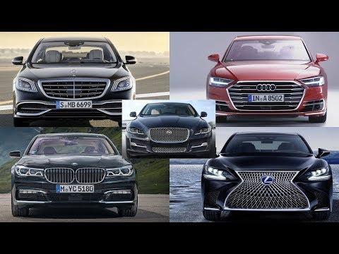 شاهد أفضل خمس سيارات سيدان فاخرة لعام 2018