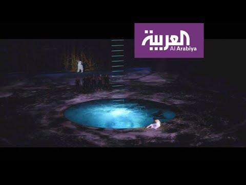 مسرح يتحول لبركة بثوانٍ في دبي