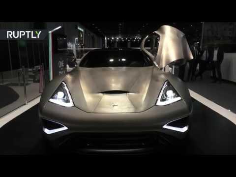 شاهد أول سيارة من فئة السوبر مصنوعة من التيتانيوم