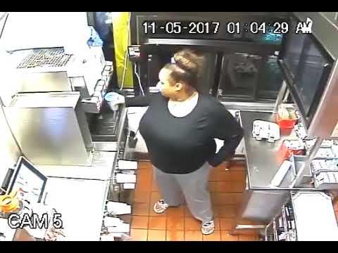 شاهد كاميرا مراقبة داخل مطعم تسجّل أغرب عملية اقتحام