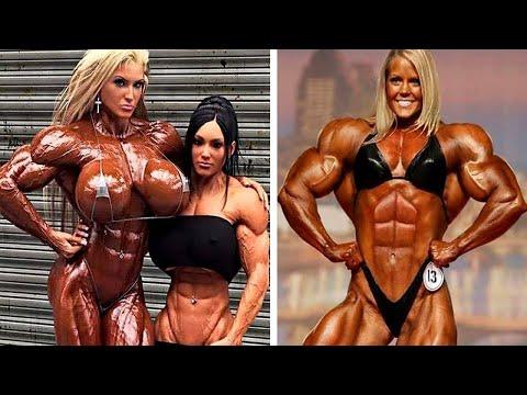 بالفيديو 10 لاعبات كمال أجسام حملن أجسادهن حتى النهاية