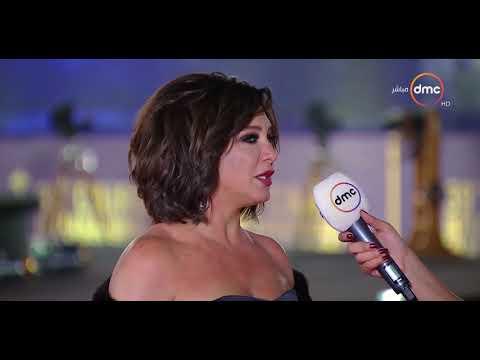 شاهد الفنانة الجميلة سلاف فواخرجي تُشيد بتنظيم مهرجان القاهرة