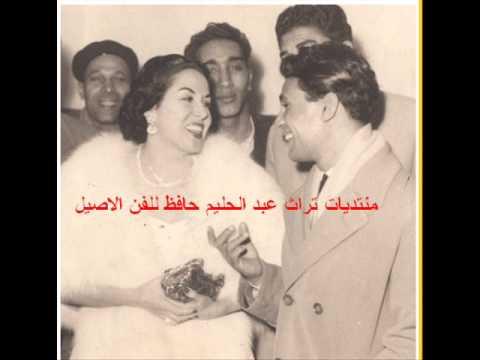 شاهد ليلى مراد تغني في لقاء نادر مع العندليب الأسمر