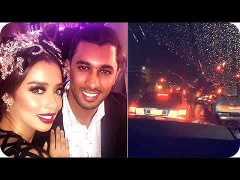 بلقيس فتحي وزوجها سلطان عبداللطيف في شوارع جدة