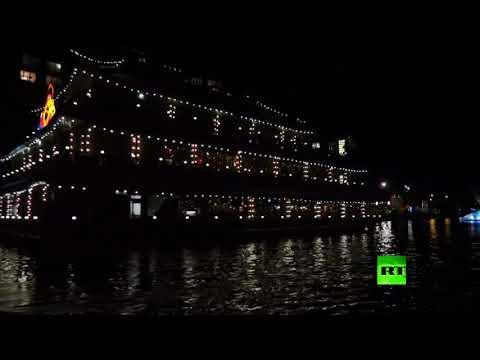 شاهد انطلاق مهرجان الضوء في هولندا