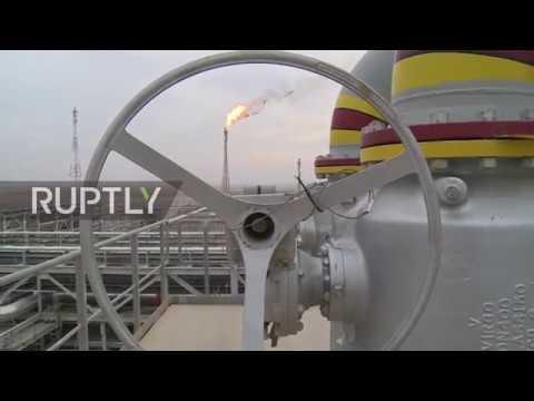غازبروم نفط تُطلق مشروعًا مهمًا في العراق