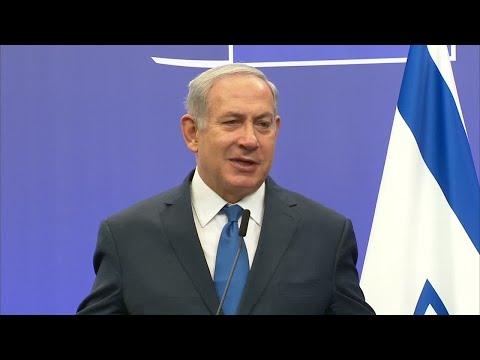 شاهد نتانياهو يأمل أن تعترف دول الاتحاد الأوروبي بالقدس عاصمة لإسرائيل