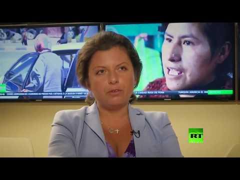 بالفيديو مقابلة لـأسوشيتد برس مع رئيسة تحرير rt مارغاريتا سيمونيان