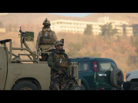 شاهد هجوم مسلح على فندق في العاصمة الأفغانية