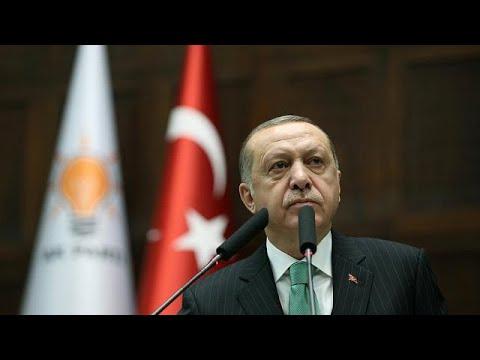 شاهد أردوغان يُحذِّر النظام السوري مِن عواقب الاتفاق مع الأكراد