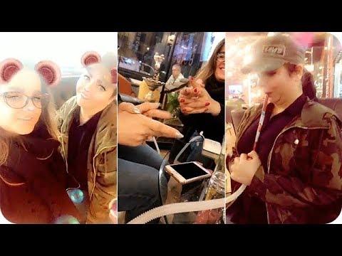 بالفيديو جيهان هاشم وصديقتها يقضيان وقتًا سعيدًا