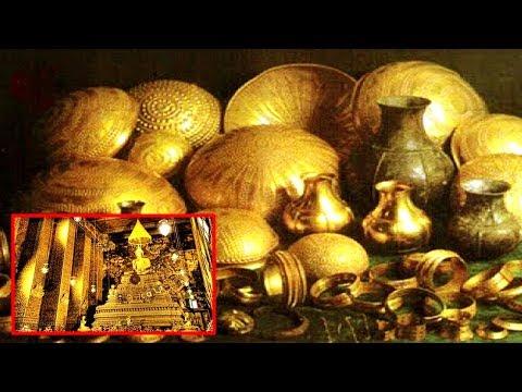 شاهد كنز بـتريليون دولار وجد تحت المعبد الهندي