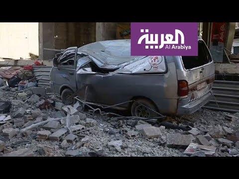 قوات الحكومة تصعد قصفها على غوطة دمشق