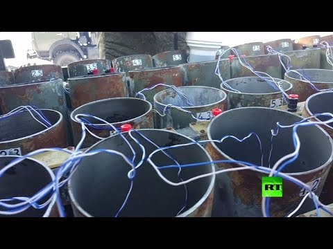 شاهد الجيش الروسي يحتفل بيوم حماة الوطن
