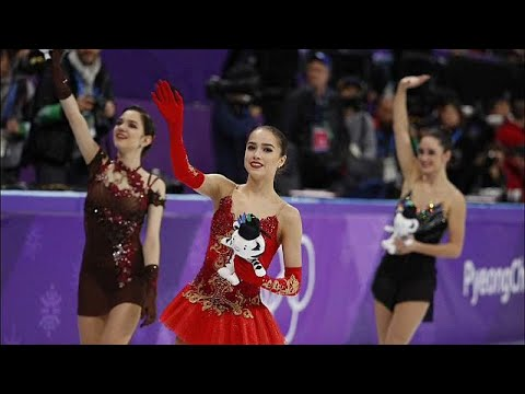 شاهد  الروسية زاخيتوفا تفوز بالميدالية الذهبية