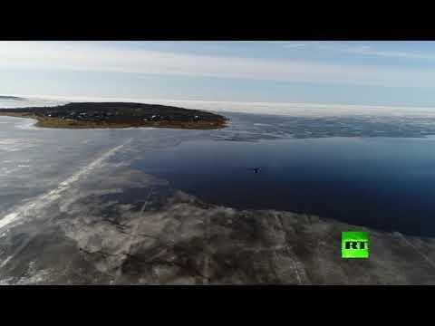 الطلاب الروس يجرون اختبارات لطائرات دون طيار