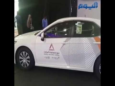 رد فعل سعوديات لحظة انقلاب سيارة