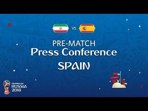 شاهد  البث المباشر للمؤتمر الصحفي لمدرب إسبانيا