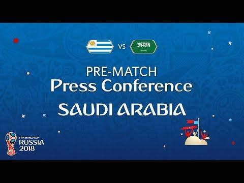 شاهد  البث المباشر للمؤتمر الصحفي لمدرب السعودية