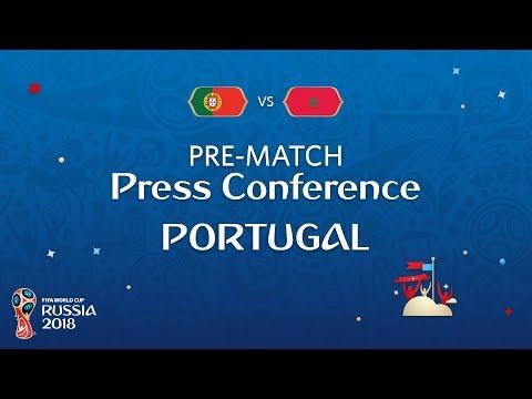 شاهد  البث المباشر للمؤتمر الصحفي لمنتخب البرتغال