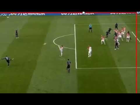 شاهد  الهدف الأول للمنتخب الفرنسي في مرمى كرواتيا