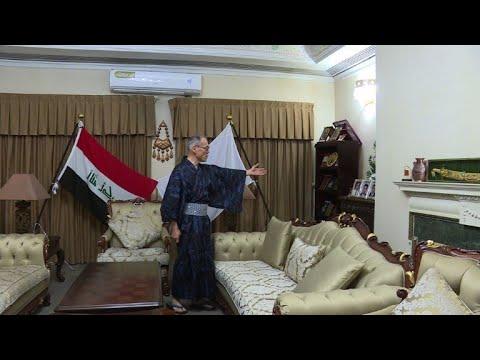 شاهد فوميو إيواي السفير الياباني العائد إلى بلاده حاملا حب العراقيين